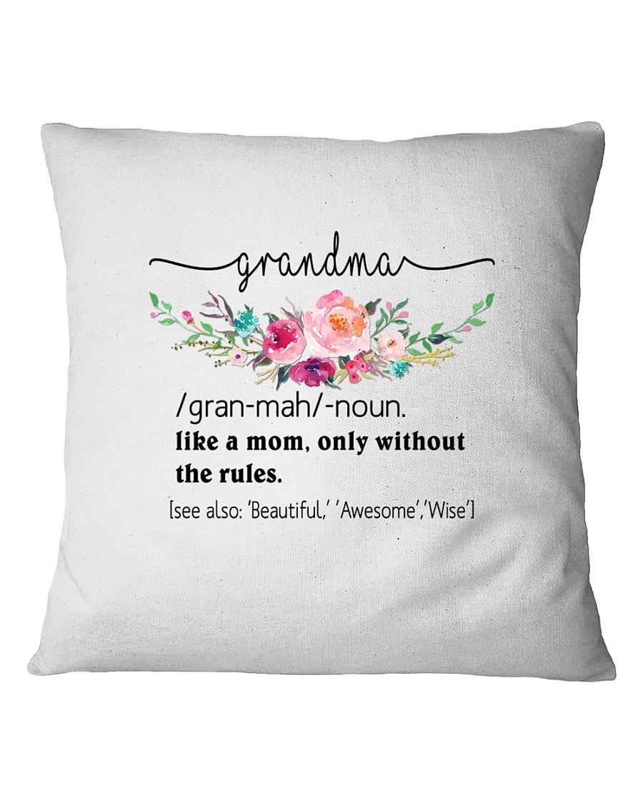 Grandma - Cool Define Square Pillowcase