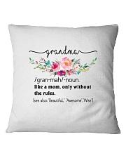 Grandma - Cool Define Square Pillowcase front