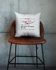 Nana - Cool Define Square Pillowcase aos-pillow-square-front-lifestyle-04