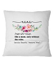 Nana - Cool Define Square Pillowcase back