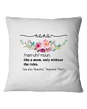 Nana - Cool Define Square Pillowcase front