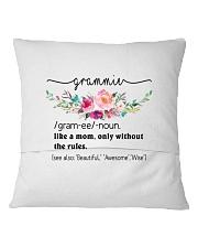 Grammie- Cool Define Square Pillowcase back