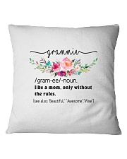 Grammie- Cool Define Square Pillowcase front