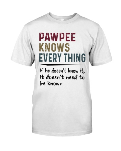 Pawpee Knows Everything - New