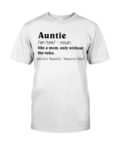 Define - Auntie