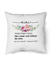 "Mimi - Cool Define Indoor Pillow - 16"" x 16"" thumbnail"