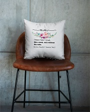 Mimi - Cool Define Square Pillowcase aos-pillow-square-front-lifestyle-04