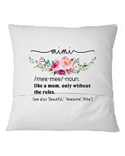 Mimi - Cool Define Square Pillowcase back