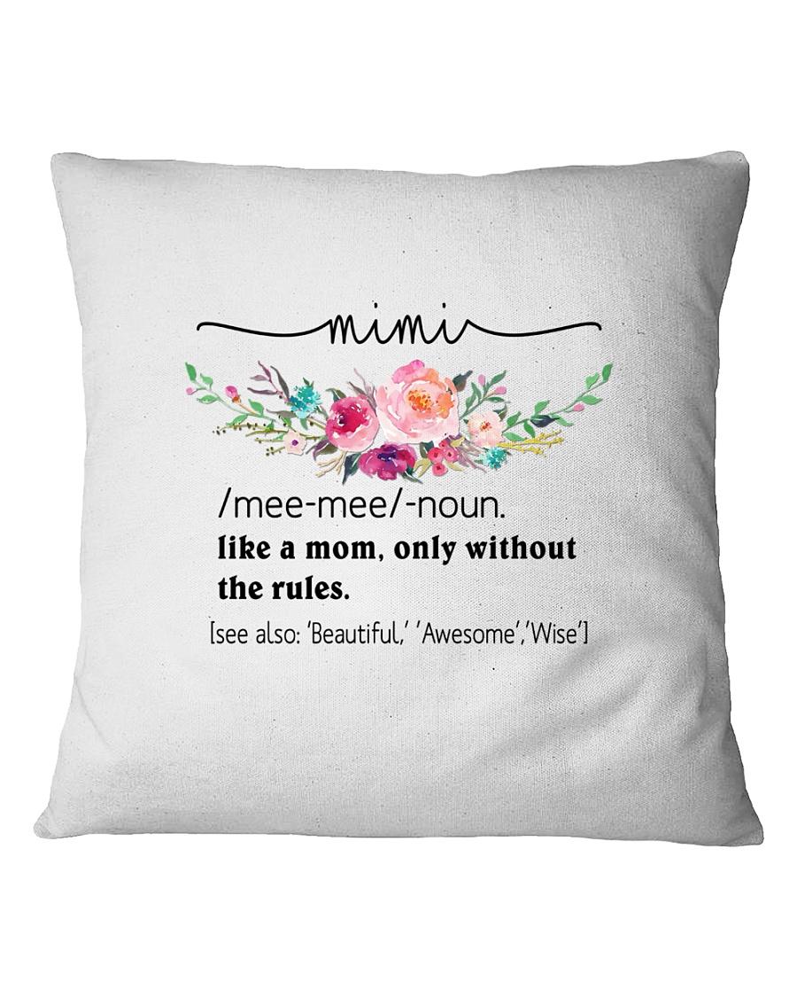 Mimi - Cool Define Square Pillowcase