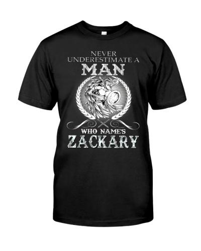 Man Proud Of ZACKARY Name Shirt