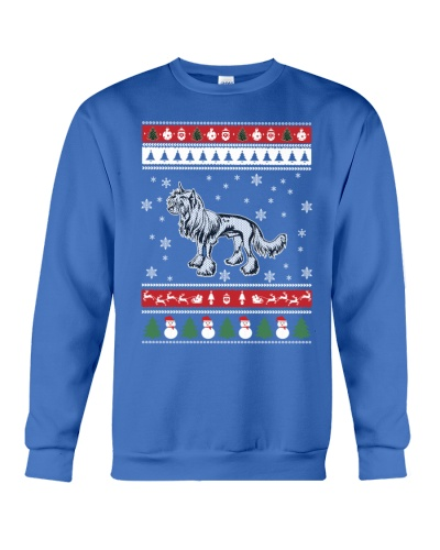 Chinese Crested Ugly Christmas Sweaters