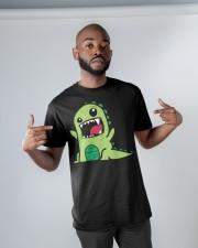 Grumpy Dino Classic T-Shirt apparel-classic-tshirt-lifestyle-front-32