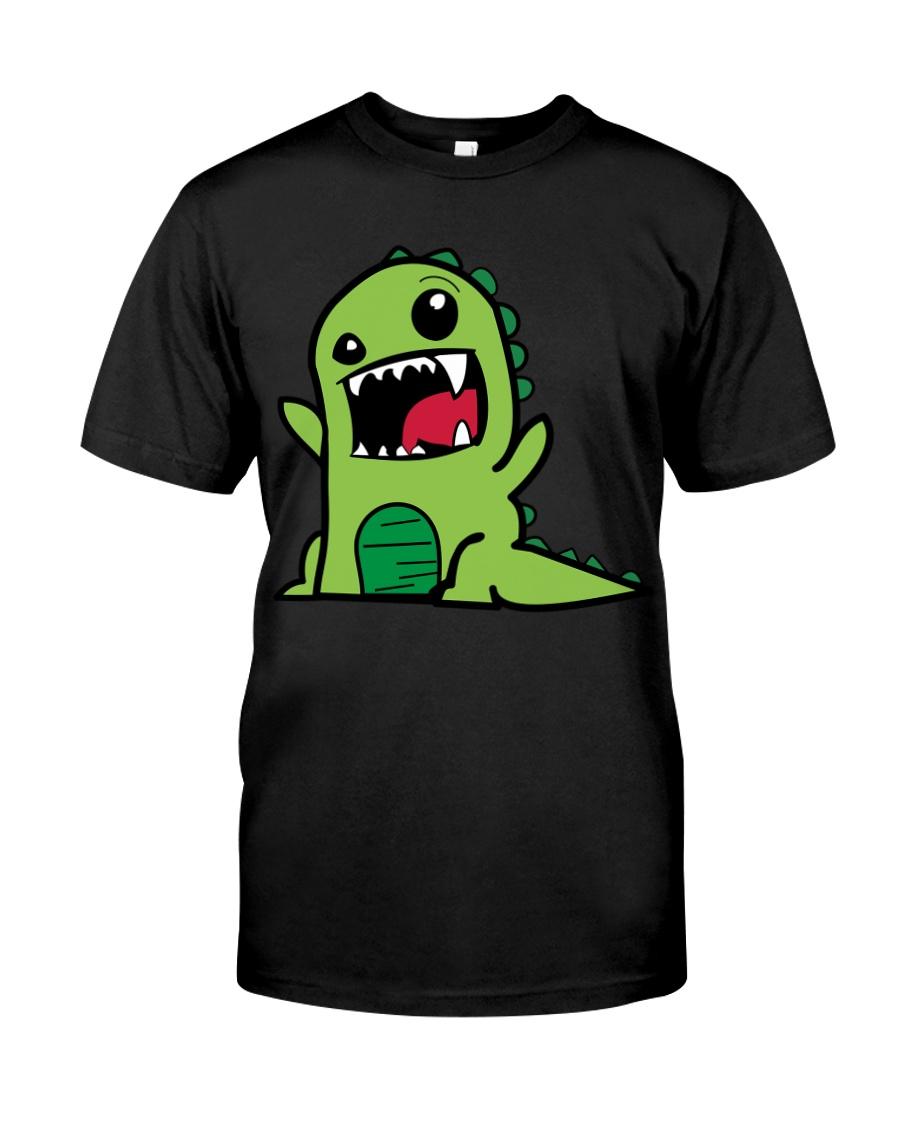 Grumpy Dino Classic T-Shirt