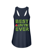 Watermelon Day Auntie Ladies Flowy Tank thumbnail