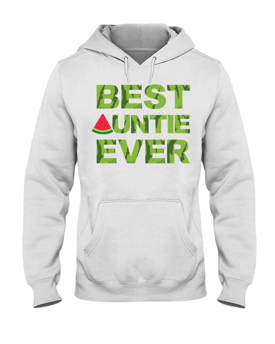 Watermelon Day Auntie Hooded Sweatshirt
