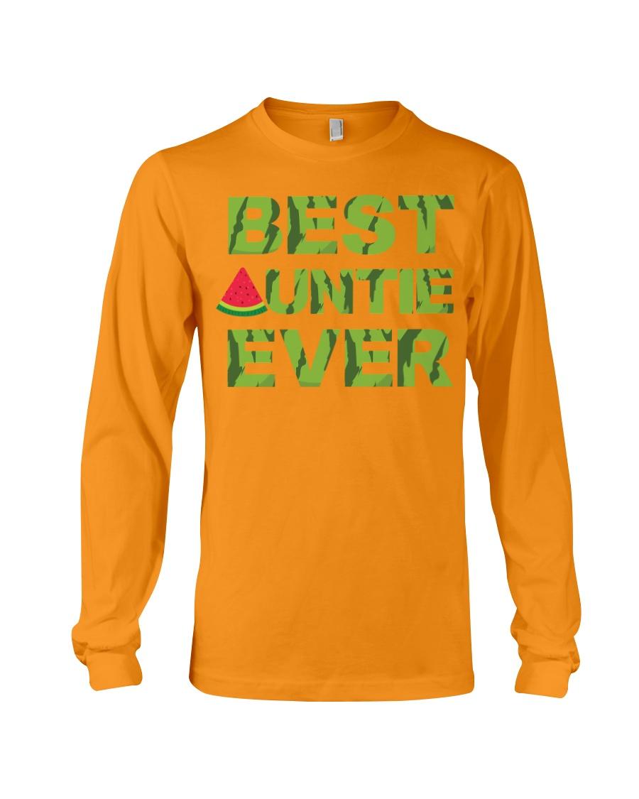 Watermelon Day Auntie Long Sleeve Tee