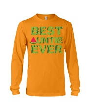 Watermelon Day Auntie Long Sleeve Tee front