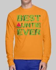 Watermelon Day Auntie Long Sleeve Tee lifestyle-unisex-longsleeve-front-1