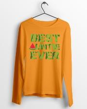 Watermelon Day Auntie Long Sleeve Tee lifestyle-unisex-longsleeve-front-3