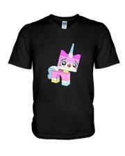 Unikitty-T-Shirt V-Neck T-Shirt thumbnail