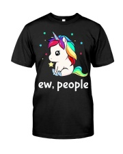 Ew People Unicorn Shirt Classic T-Shirt tile