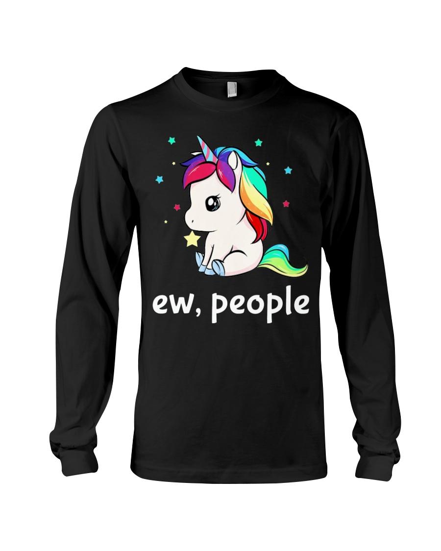 Ew People Unicorn Shirt Long Sleeve Tee