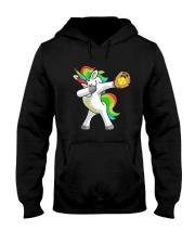 Dabbing Unicorn Softball T-Shirt  Hooded Sweatshirt thumbnail