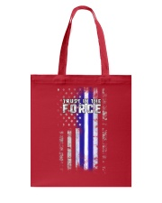 Trust In The Force Tote Bag front
