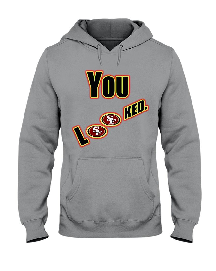 Niners 49ers Hooded Sweatshirt