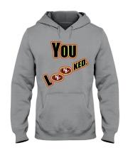 Niners 49ers Hooded Sweatshirt front