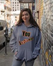 Niners 49ers Hooded Sweatshirt lifestyle-unisex-hoodie-front-1