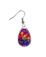 Colorful designer Earring Teardrop Earrings front