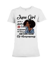 June Girl - Special Edition  Premium Fit Ladies Tee thumbnail