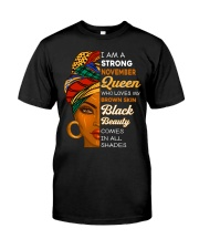 November Queen Classic T-Shirt front