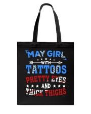 Girl May Tote Bag thumbnail