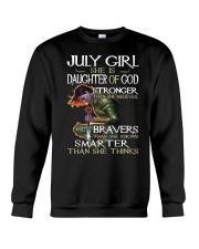 July Girl - Special Edition Classic Crewneck Sweatshirt thumbnail
