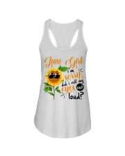 June Girl Ladies Flowy Tank tile