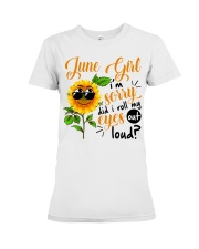 June Girl Premium Fit Ladies Tee tile