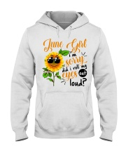 June Girl Hooded Sweatshirt tile