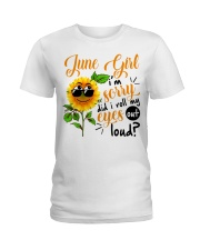 June Girl Ladies T-Shirt tile