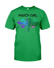 March Girl - Special Edition Classic T-Shirt thumbnail