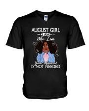 August Girl - Special Edition V-Neck T-Shirt thumbnail