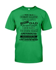 Stubborn Daughter - Crazy Dad - Limited Edition Classic T-Shirt thumbnail