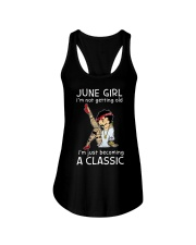 June Girl - Special Edition Ladies Flowy Tank front