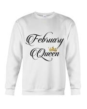 February Queen Crewneck Sweatshirt thumbnail