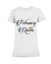 February Queen Premium Fit Ladies Tee thumbnail