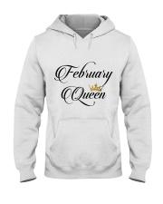 February Queen Hooded Sweatshirt thumbnail