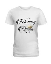 February Queen Ladies T-Shirt thumbnail
