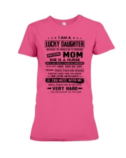 Lucky Son - Awesome Mom - Special Edition Premium Fit Ladies Tee thumbnail
