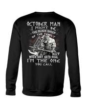 October Man - Special Edition Crewneck Sweatshirt thumbnail
